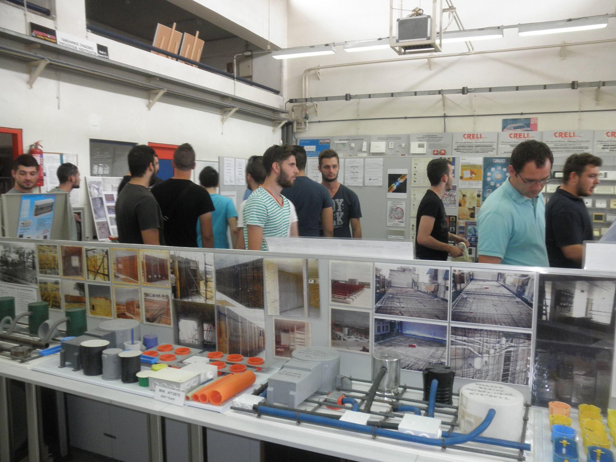 6η επίσκεψη στο Μουσείο Ηλεκτρισμού