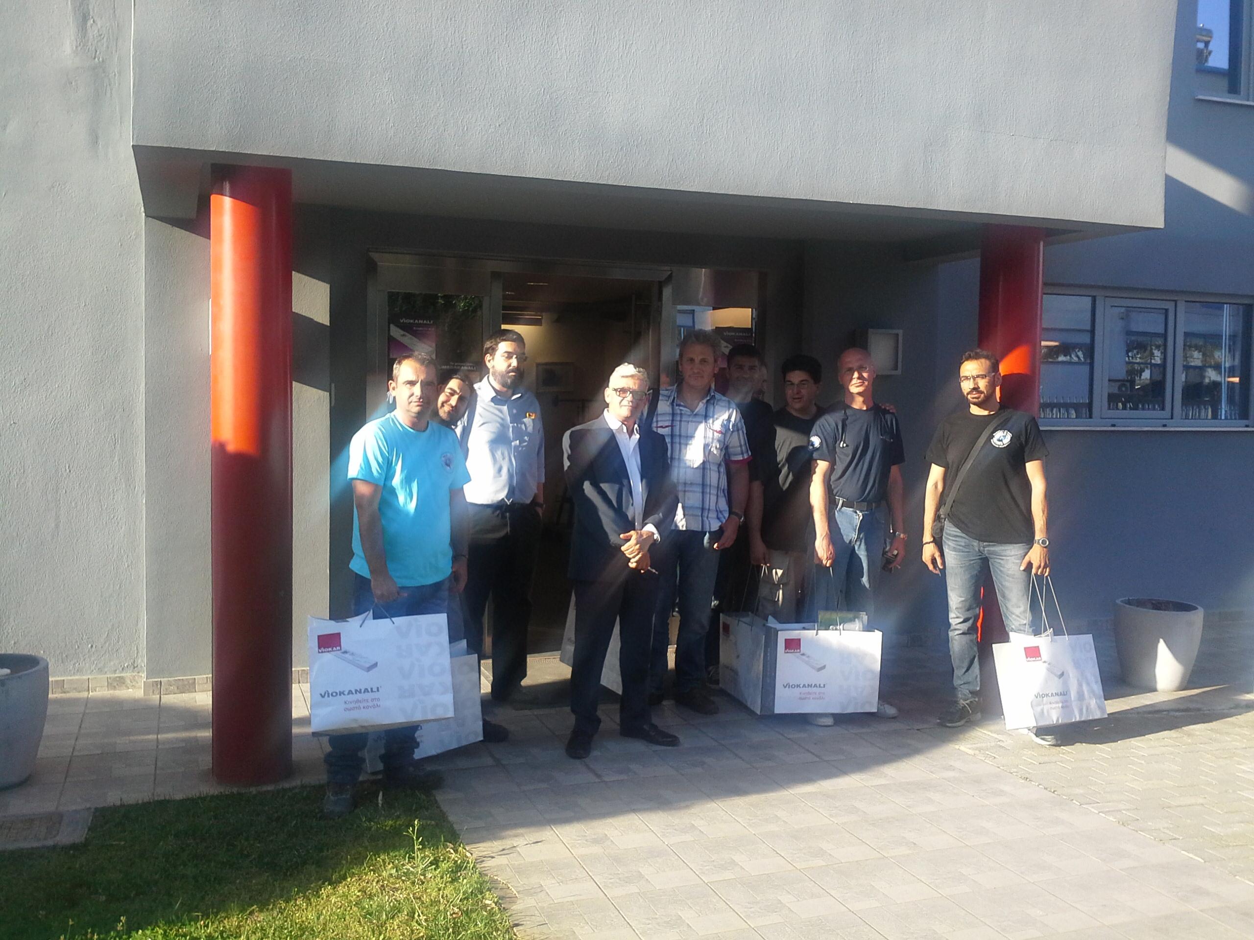 Επίσκεψη στο εργοστασίο της VIOKAR